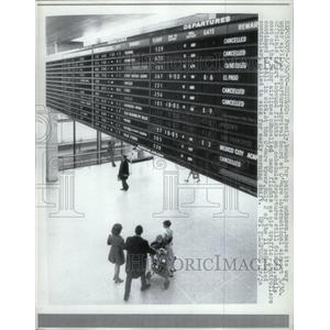 1970 Press Photo O'Hare International Airport