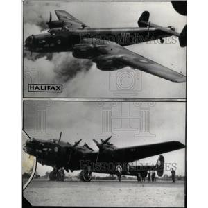 Press Photo British Aviation Air Force Bomber England - RRX73577