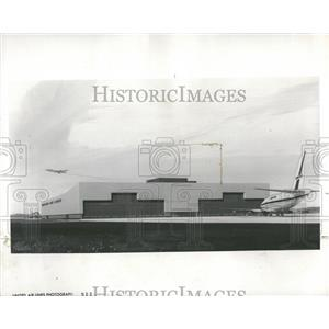 1967 Press Photo United Air Lines O'Hare Airport - RRY02399