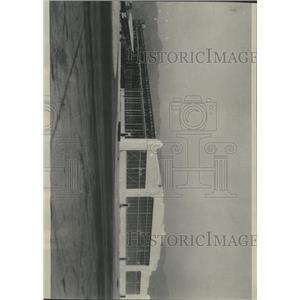 1930 Press Photo Airport Hangar/United Airport/Calif. - RRX93985