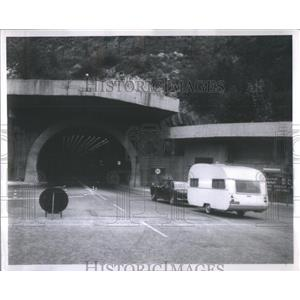1969 Press Photo Mount Blanc tunnel France masterpiece