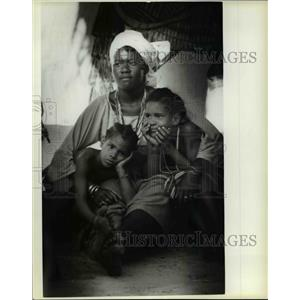 1980 Press Photo Oyotunji Kingdom, South Carolina. - cvb21918