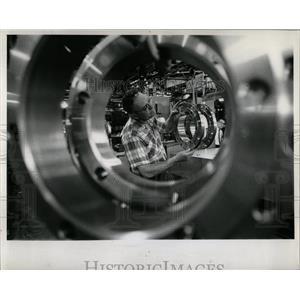1959 Press Photo Electro Motive Division Plant La Grang - RRW89005