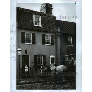 1989 Press Photo Charleston, South Carolina houses - cvb24047
