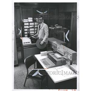 1966 Press Photo Data Processing Equipment - RRW36349