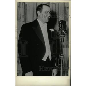 1935 Press Photo Richard Alexander Crooks Metropolitan - RRW78775