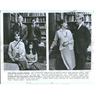 1985 Press Photo Claire Bloom & Sam Wanamaker, Actors