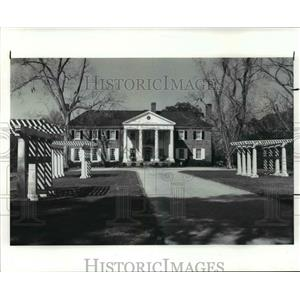 1987 Press Photo South Carolina Charleston Boone hall Plantation - cvb36914
