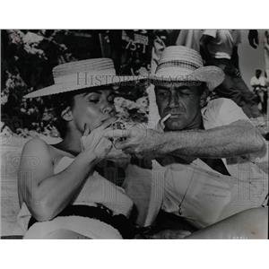 1960 Press Photo Joanne Dru and Mark Stevens