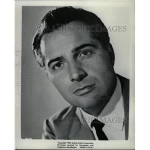 1955 Press Photo Rossano Brazzi Italian actor - RRW18791