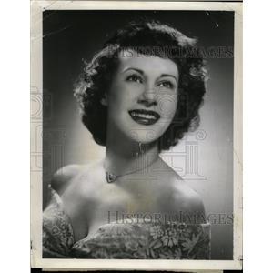 1948 Press Photo Arlene Francis Actress Radio Game Show - RRW16047
