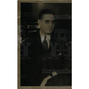 1936 Press Photo Hugh Tunney Detroit Directors Black - RRX45029