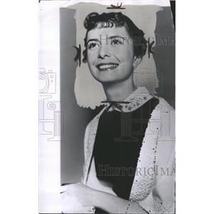 1955 Press Photo Margaret Brien Actress - RRW36577
