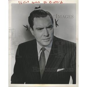 1954 Press Photo Edmond O Brien Actor - RRW36531
