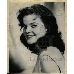 1961 Press Photo Miracle Worker Actress Brennan Ad - RRW18897