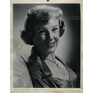 1955 Press Photo June Allyson Actress MGM Contract Star - RRW09187