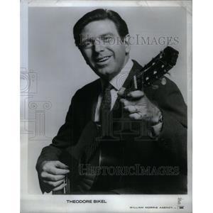 1969 Press Photo Theodore Bikel Actor, Folk Singer. - RRX34603