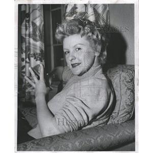 1963 Press Photo Elaine Stritch Actress - RRW32843
