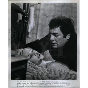 1968 Press Photo Actor Tony Curtis Boston Strangler - RRX58291