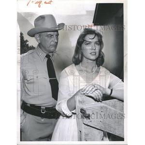 1962 Press Photo Actors Denver Pyle And Ellen McRae - RRW33867