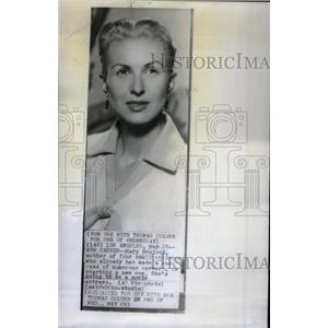 1957 Press Photo Mary Hosford actress - RRX36709