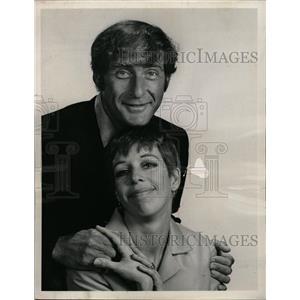 1967 Press Photo Sid Caeser Caroll Burnett Television - RRW13555