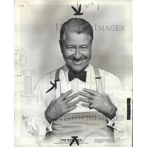 1960 Press Photo Jack Oakie Back in Movies - RRW36401