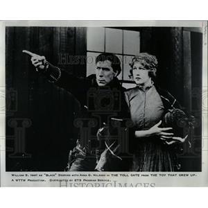 1968 Press Photo William Hart The Toll Gate Film Actor - RRW05809