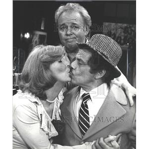 1980 Press Photo Anne Meara Corroll Conner Jerry Actor - RRW36405