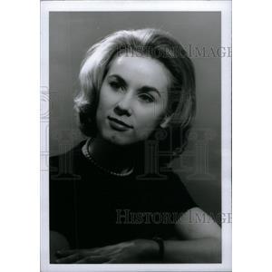 1967 Press Photo Jennifer Haefele Wayne Actress - RRX46647