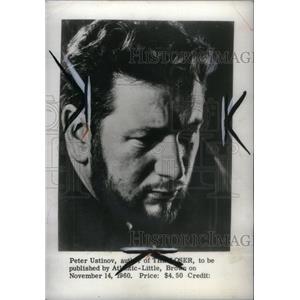 1960 Press Photo Sir Peter Alexander Ustinov CBE Noted - RRX45545