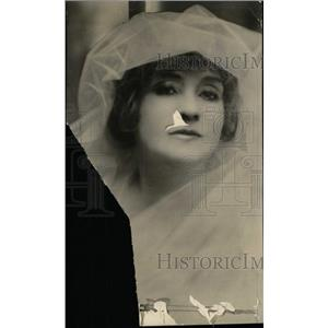 1924 Press Photo Actress Minnie Fiske - RRW95809