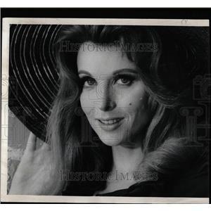 1969 Press Photo Tina Louise Hollywood Beauty - RRW07621