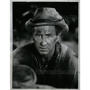 1962 Press Photo Lloyd Bridges Kaiser Show Pair Boots - RRW13517