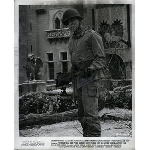 "1969 Press Photo Burt Lancaster in ""Castle Keep"" - RRX64485"