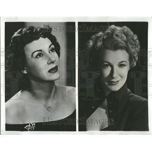 1958 Press Photo Arlene Frances Actress - RRV82519