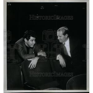 1962 Press Photo Eddie Fisher Bob Precht - RRX48241