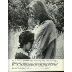 Press Photo Marilyn Bassett and Donna Mitchell star in The Bell Jar.