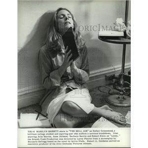 Press Photo Marilyn Hassett stars in The Bell Jar. - nop06046