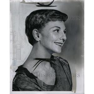 1955 Press Photo Mary Martin Actress