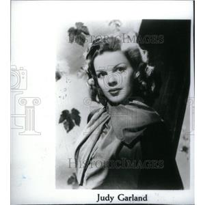 1996 Copy Press Photo Judy Garland Actress Singer - RRX46519