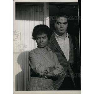 1964 Press Photo CBS Series Ruby Dee E. Side W. Side - RRW98227