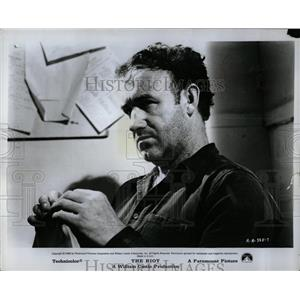 1969 Press Photo Gene Hackman The Riot Film Actor - RRW00071