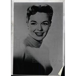 1955 Press Photo Nancy Gates America Film Television - RRW79389