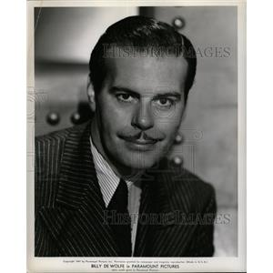 1947 Press Photo Billy De Wolfe American Actor - RRW26513