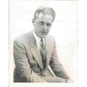 1931 Press Photo Singer Phil Dewey of NBC Radio Quartet The Revelers - ner21767