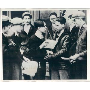 1931 Press Photo Detroit MI Stuart MacDonald Rochester HS Student - ner22745