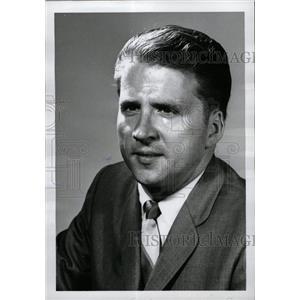 1967 Press Photo Wayne State Univ Actor Borden - RRW71615
