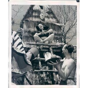 1947 Press Photo NYC Fedora & Nat Lincoln Performers at Long Island - ner33551