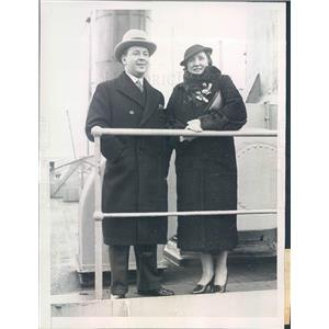 1934 Press Photo NYC Metropolitan Opera Singer Mrs Stanley Rogers - ner36433